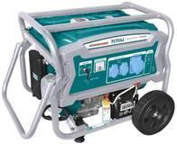 Generador A Nafta Total 4 Tiempos 6500W, Enc. Eléctrico