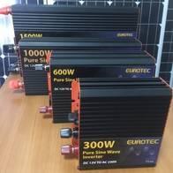 Inversor Senoidal Puro Eurotec 12V/24V-230Vac 2000W