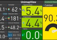 Monitor De Pulverización Unimap